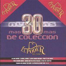 Poder Del Norte : Mas 30 Albums De Coleccion CD