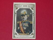 CHROMO GUERIN-BOUTRON CELEBRITES 1910 N°183 AMIRAL CAILLARD MILITARIA MARINE