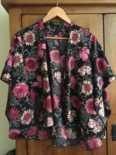 Dorothy Perkins Size 18 Lightweight Summer Floral Kimona Jacket