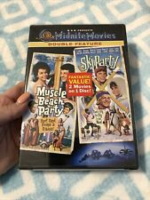 Double Feature - Muscle Beach Party/Ski Party (DVD, 2003), Frankie Avalon GREAT!