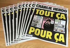 CHARLIE HEBDO numéro 1467 2 septembre 2020 nouvelle attaque le 25/09/2020 photos