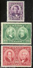 Canada - Scott #146-48 - Mint NH - 1927