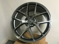 19 Mercedes Benz Y Spoke Style Gunmetal Machined Staggered Rims Wheels