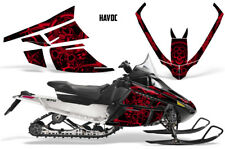 Arctic Cat F Series Sled Wrap Snowmobile Graphics Kit Stickers Decals HAVOC RED