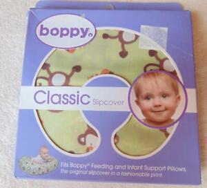 Boppy Classic Slipcover Only  Feeding & Infant Support Pillows Monkeys New