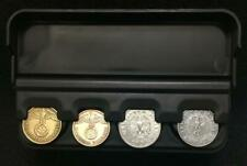 Coin Display Case - Securely Holds Four Coins