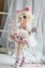 FULL-SET Pink Bear doll 1/6 BABY DZ DollZone 30cm girl doll BJD Yo-sd