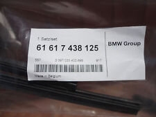 NEW IN PACKAGE Genuine BMW F10 Set Of Wiper Rubber - 61617438125