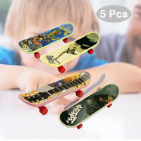 5Pcs Mini Finger Board Tech Deck Truck Skateboard Boy Kids Children Party Toys
