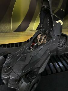 "Custom Bvs Batmobile Epic Strike Complete In & Out  6"" Figures 1/12 BATMAN RARE"