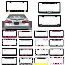 New Car Truck Suv Van Universal Fit License Plate Frame Made in U.S.A