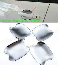 FIT FOR SUBARU FORESTER 2009 2010-2012 CHROME DOOR HANDLE BOWL COVER CUP TRIM