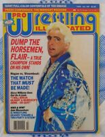1987 PRO WRESTLING ILLUSTRATED MAGAZINE WWF WCW - RIC FLAIR HULK HOGAN STEAMBOAT