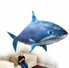 Flying Shark Air Swimmer RC Remote Control Toy Balloon Air Swimmers Kids Toys A
