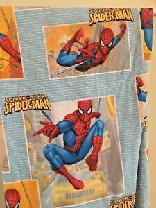 """Spiderman Twin Fitted  Sheet Marvel Spider Sense 39""""x75"""""""