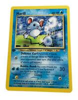 2000 Pokemon Neo Genesis 1st Edition #66 Marill 66/111