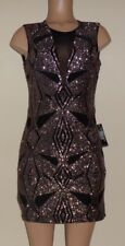 NWOT VENUS MESH DETAIL GLITTER DRESS SIZE 8 $44