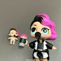 LOT 2X LOL Surprise Dolls LiL Sisters L.O.L. ROCKER & LIL SERIES 1 2 TOYS