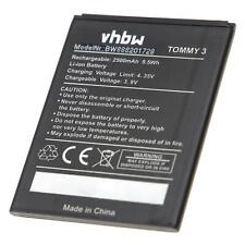 Batteria 2500mAh per Wiko Jerry 2, Jerry 3, Tommy 3, 2610