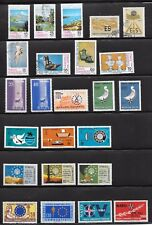 TURKEY PAGE OF 24; 7SETS M.N.H 3 SETS USED;1960's - 1980's.