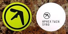 APHEX TWIN Syro Ltd Ed RARE Logo Sticker +FREE Electronica/Dance/EDM Stickers!