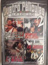Pandilleros/Capos En La Mira/Rey De La Mafia/Fuego En La Sangre, DVD Accion V.2