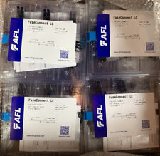 Fiber Optic Fuseconnect Lc Splice-On Connector, Sm, 900um Boot, Box Of 50 6-pack