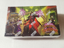 WOW World of Warcraft TCG Betrayal of the Guardians factory sealed booster box