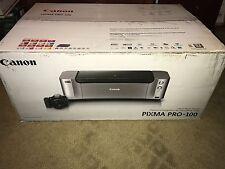 NEW Canon PIXMA PRO-100 Professional Digital Photo Inkjet Printer + Bonus Paper