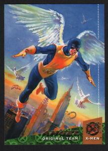 Ray Lago SIGNED X-Men Art Trading Card ~ Angel 1994 Fleer Ultra Marvel Comics