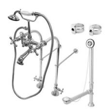 Chrome Clawfoot BathTub Faucet Package Kit – CCK5171AX Package Set