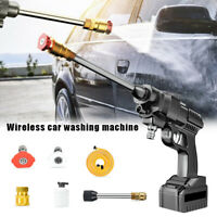Wired/Wireless High-pressure Water Car Washing Cleaning Tool Adjuatable Outlet