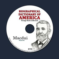 Biographical dictionary of America – 10 Vintage e-Books Collection on 1 DATA DVD