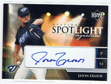 Jason Frasor Baseball Autograph Card 2006 Upper Deck Ovation Toronto Blue Jays