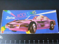 ♥ Corvette Mattel Barbie Ultra Vette Rock Stars Mirror DREAM Mobile Pink Car  ♥