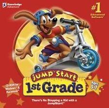 Jumpstart 1st Grade   Math Reading Science Spelling  Brand New Sealed Jump Start