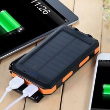 Solar Power Bank Iphone Android USB Charge Waterproof Survival Free Express Ship