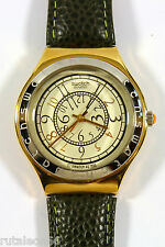 SWATCH IRONY BIG YGG100 original Swiss made quartz watch. New old stock