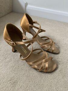 Topline Ballroom Dance Shoes Heels Jazz 6.5