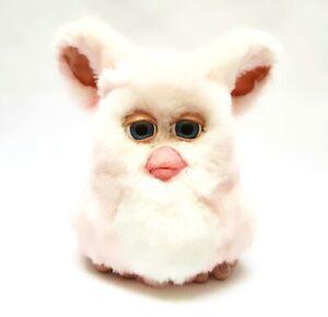 Furby 2005 emoto tronic model 59294 STRAWBERRY SWIRL furby pink white VERY RARE