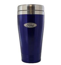 Ford Blue Stainless Travel Mug