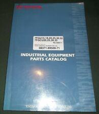 Toyota 7fgu15 7fgcu 7fgu18 7fgu20 7fgu25 7fgu30 7fgu32 Forklift Parts Manual