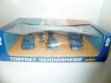 Solido France 1:43 Coffret Gendarmerie Gift Set Cars + Helicopter MIB OVP