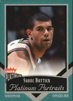 2002-03 Fleer Platinum Portraits #3PP Shane Battier - NM-MT