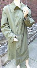 Vintage~ US Army Military Vietnam OG-107 OD Field Jacket Coat MED-REG       #9
