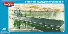 Mikromir 350-002 WWII Soviet Navy Submarine Type S-u Boot - 1:350