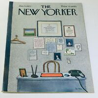 The New Yorker: January 24 1977 - Full Magazine/Theme Cover Pierre Le-Tan