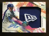 2020 Topps Inception⚾️Gavin Lux /5⚾️Jumbo Hat Patch Auto RC Rookie Dodgers ROY?