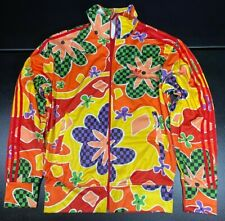Adidas Originals Jeremy Scott Floral Track Top Jacket Rare ObyO AC1822 Medium M