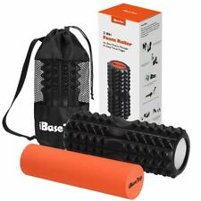 Foam Roller 2 in 1 with Carry Bag Deep Tissue Muscle Yoga Massage High Density